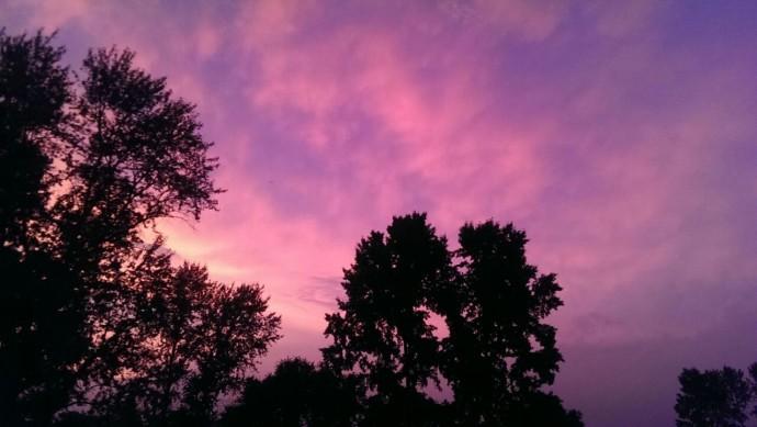 Закат в Амурзете