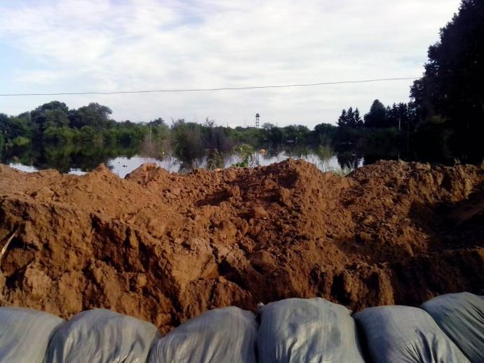Наводнение, район ПЗ