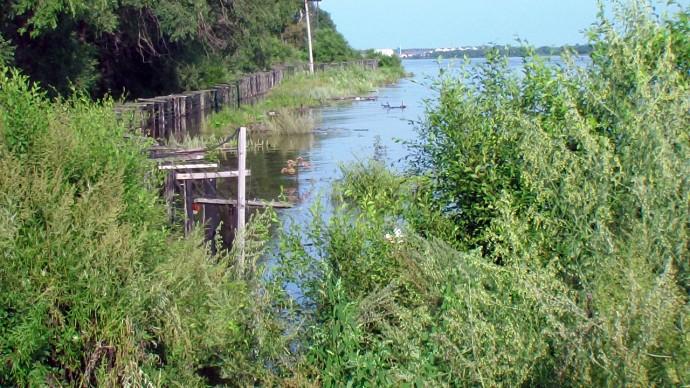 Затопленная линия ИТС