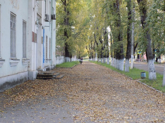 Осенний август